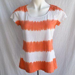* Ann Taylor LOFT Outlet Tie Dye Short Sleeve Tee